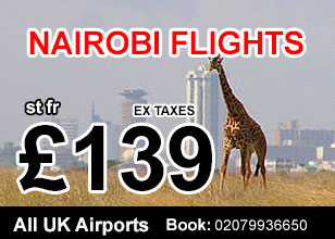 Nairobi direct airline offers