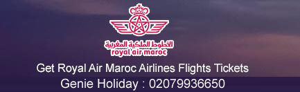 Royal Air Maroc Airlines 2018 fare for mobile user